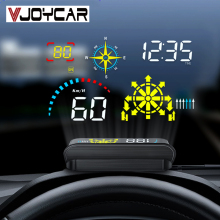 Hud-Projector Navigation Windshield Gps Speedometer Head-Up-Display Obd2 Hud Vjoycar