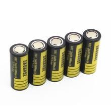 цена на SKOANBE 5-8 PCS 26650-50A 26650 5000mAh  Li-ion 3.7V  Rechargeable Battery Free Shipping