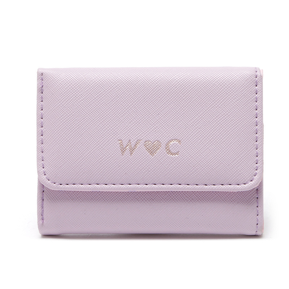 Pink Lovely Key Wallets Women Multi-function High Quality Soft Leather Female Card Holder Ladies Key Cover Case Organizer Bag