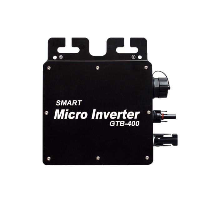 Микро-инвертор, 120 В, 230 В, DC/AC, умный микро MPPT солнечный преобразователь, 22-50 в, Беспроводная связь с мониторингом Wi-Fi