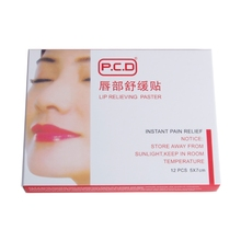 12pcs Lip Anesthetic Paste Mask For Tattoo Permanent Makeup