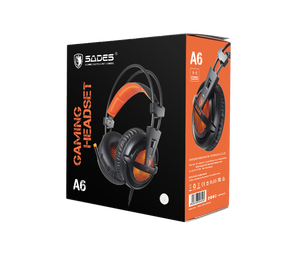 Image 5 - $32 8 SADES A6 USB Over Ear Stereo wired gaming headphone game headset over ear with mic Voice control for laptop computer gamer