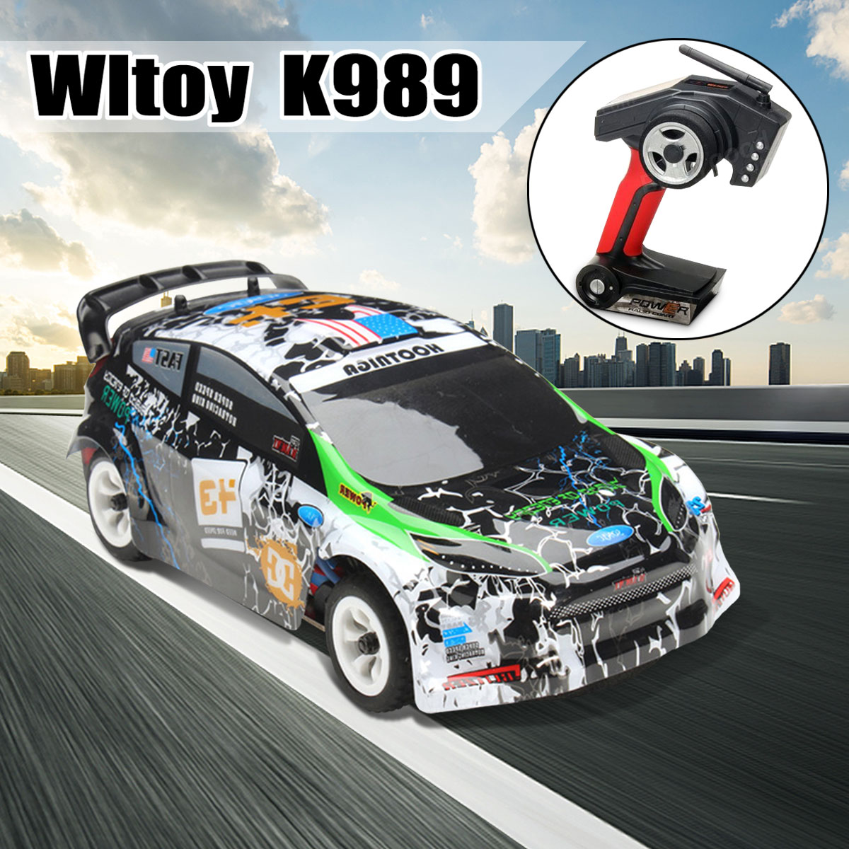 Wltoys K989 1/28 2.4G 4WD Cars Brushed RC Remote Control Racing Car RTR Drift Alloy High Quality Toys Models
