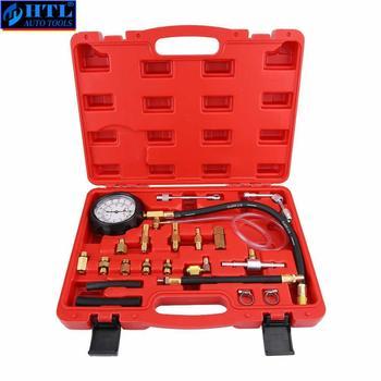 TU-114 Fuel Pressure Gauge Auto Diagnostics Tools For Fuel Injection Pump Tester tu 443 deluxe manometer fuel injection pressure tester gauge kit system 0 140 psi
