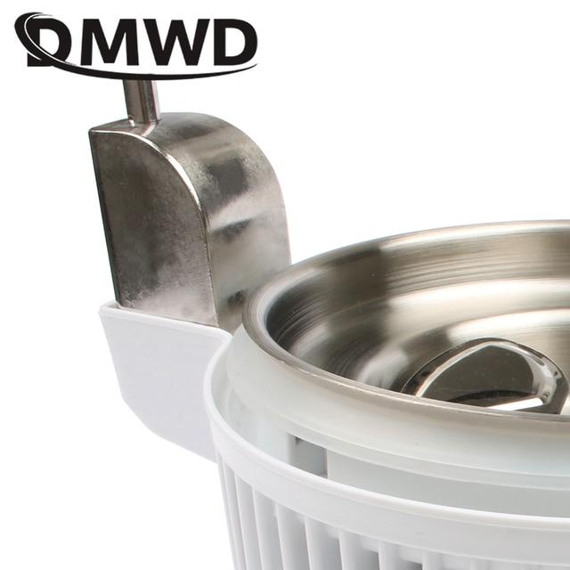 Dmwd pure water distiller 4l dental distilled water machine filter stainless steel electric distillation purifier jug 110v 220v