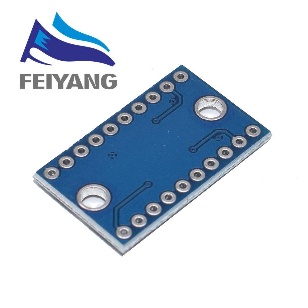 Преобразователь логического уровня TXS0108E, 3,3 В, 5 В, 8 каналов, преобразователь TTL двунаправленный взаимный преобразователь