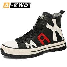 Fashion High Top Sneakers Mens Hip Hop Shoes Classic Man