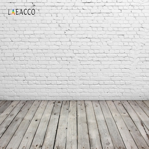 Image 2 - Laeacco Brick Wall Wooden Floor Photophone Photocall Grunge Portrait Baby Newborn Photography Backdrops Photo Backgrounds Props