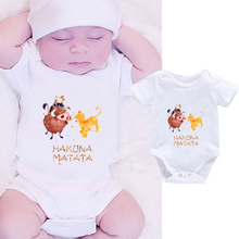 DERMSPE 2019 Summer Funny Infant Bodysuit Newborn Baby Boys Girls Letter Print J