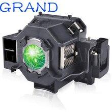 교체 ELPLP41 프로젝터 램프 V13H010L41 전구 S5 S6 S6 + S52 S62 X5 X6 X52 X62 EX30 EX50 TW420 W6 77C EMP H283A