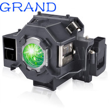 Replacement ELPLP41 Projector Lamp V13H010L41 bulb for S5 S6 S6+S52 S62 X5 X6 X52 X62 EX30 EX50 TW420 W6 77C EMP H283A