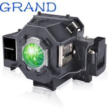 Yedek ELPLP41 projektör lambası V13H010L41 ampul S5 S6 S6 + S52 S62 X5 X6 X52 X62 EX30 EX50 TW420 w6 77C EMP H283A