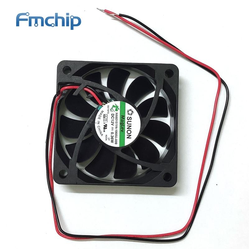 HA60151V4-1000U-A99 Replacement HA60151V4-000U-999 Fans Thermal Management 60X60X15 12VDC VAPO 12.7CFM
