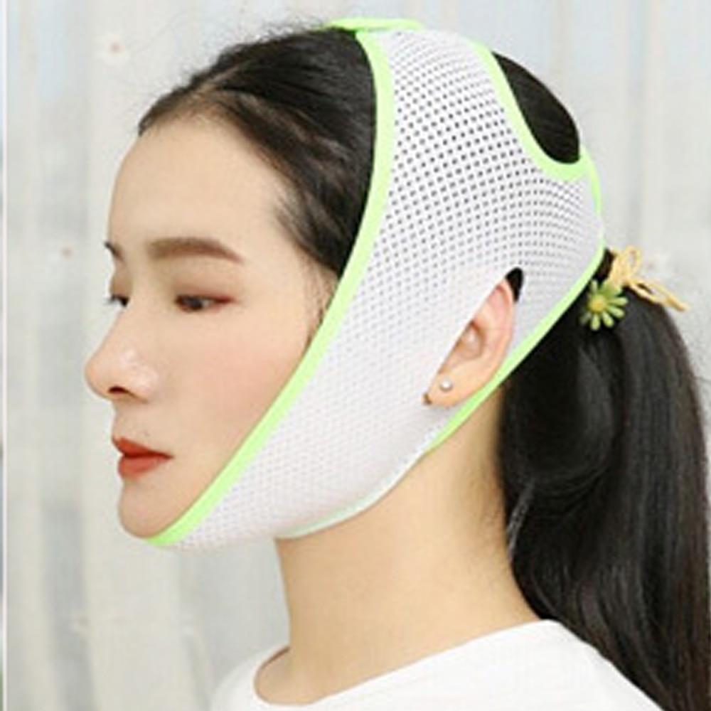 Face Chin Cheek Lift Up Slimming Slim Mask Ultra-thin Belt Strap Band Women Reduce Double Chin Skin Facial Massager Skin Care
