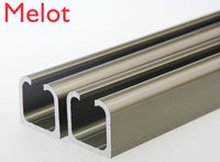 Customized products,door pulley Slide track ,Slide rail, 120cm x 16pcs