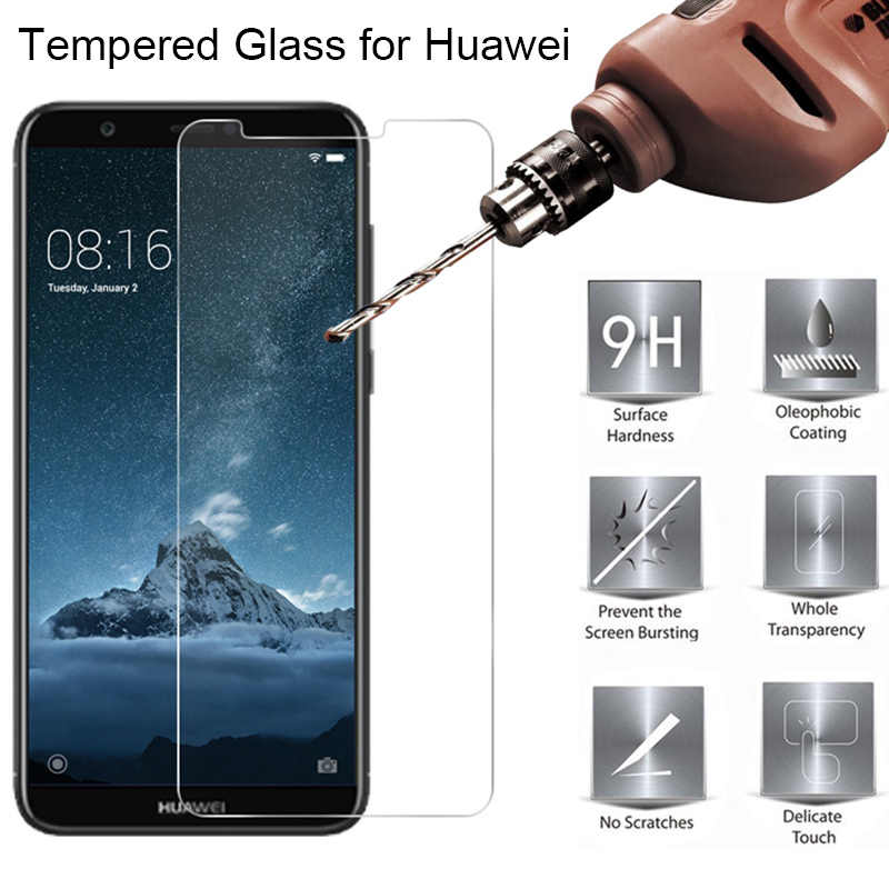 Hard Screen Protector For Huawei P30 Lite Y7 Pro Y6 Prime Y5 Phone Protective Glass for Huawei P Smart Plus 2019 Tempered Glass