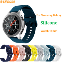 for Samsung Galaxy Watch 46mm/Gear S3 22mm Silicone band for Huami Amazfit GTR 47mm smart watch strap For Huawei Watch GT Correa watch band for 22mm samsung gear s3 real leather with silicone watch strap for huawei watch 2pro wrist belt for huami amazfit 1