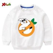 Kids Sweatshirts 2T-8T 2019 Autumn White Boys Sportwear Ghostbusters  T Shirt 2t Cotton Pullover Toddler Baby Sweatshirt Anime