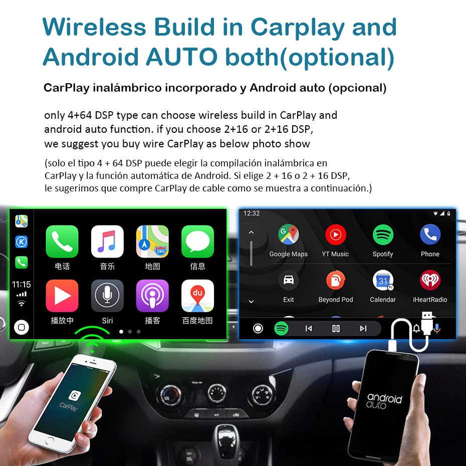 1280 1080p アンドロイド 9.0 4 グラム 64 グラム Carplay GPS スバルフォレスター 3 SH 2007-2013 アクセサリーセダン DVD ナビゲーション IPS スクリーン no DVD