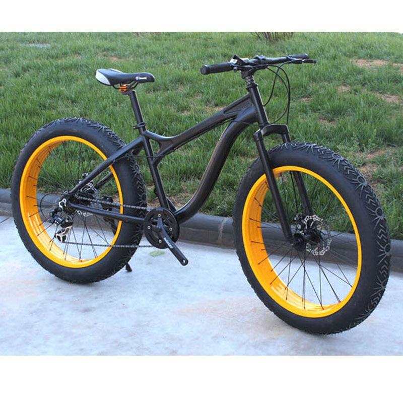 VTT 20 26 pouces * 4.0 4.9 super large pneu neige vélo chambre à air plage vélo vélo pneu