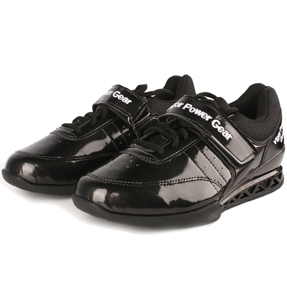 High Weight Lifting Shoes for Men Training Leather Anti Slip Resistant Weight lifting Shoes Size 40-45
