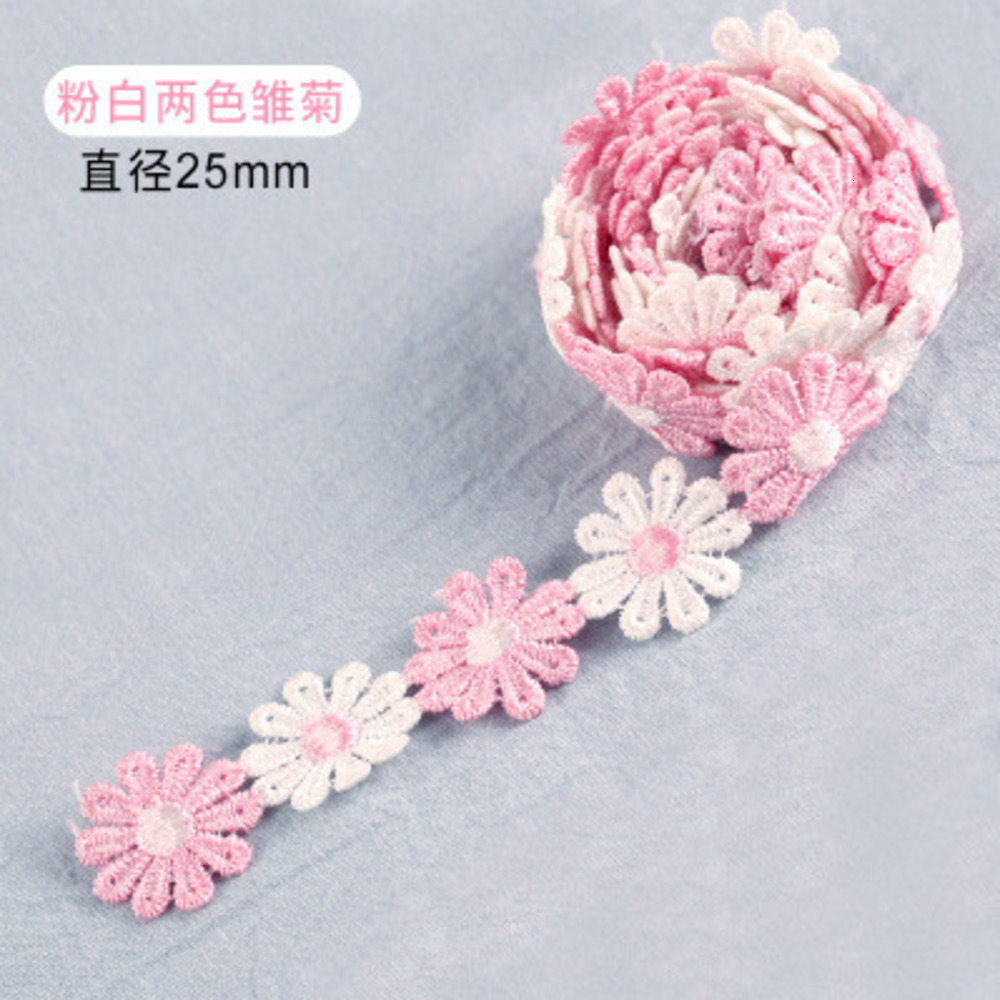 Guipure Lace Fabric Ribbon Trim Flower Embroidery Craft Scrapbooking DIY Gift Packing Decoration Handmade Sewing Hat Decoration