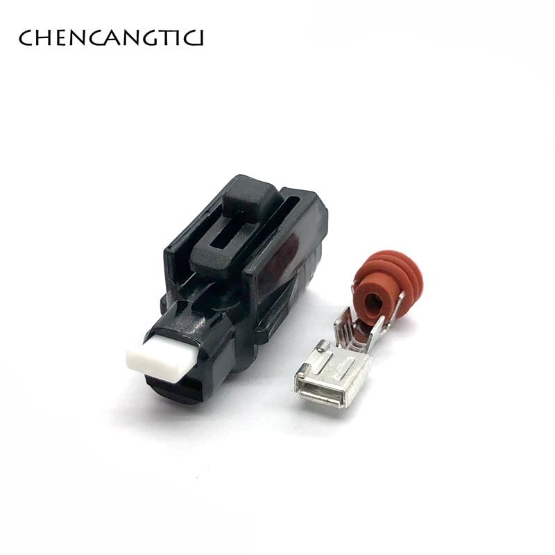 2 комплекта 1 контактный автомобильный водонепроницаемый разъем стартер электрический разъем для Toyota Highlander Land Cruise Corolla Reiz 6189-0413
