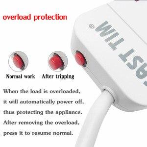 Image 4 - Многофункциональная интеллектуальная плата для защиты от перегрузки с защитой от взвода и молнии 4USB 3.2A быстрое зарядное устройство кабель 1,5 м usb разетка резетка с usb разетка с usb для дома