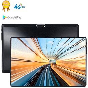 10 pouces enfants tablettes Android 9.0 MT6753 8 Octa Core Ram 6GB ROM 64GB 5MP 3G 4G LTE SIM tablette PC Wifi GPS bluetooth 3G téléphone