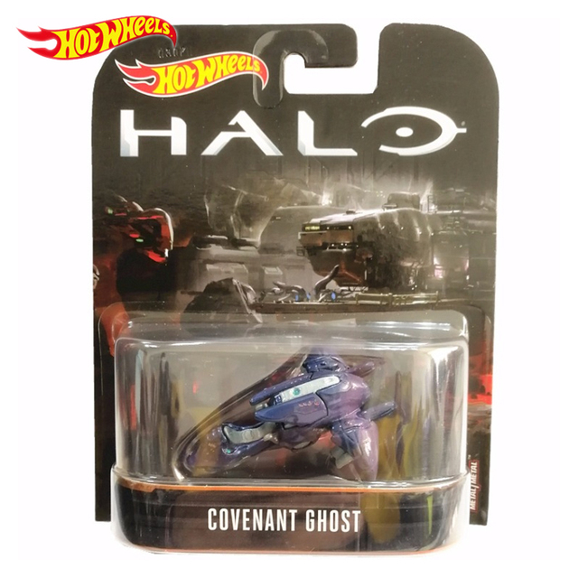 Genuine Hot Wheels Halo War Game Classic Covenant UNSC Chariots Model Collection Toys Boy Birthday Gift DMC55