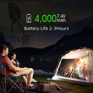 Image 5 - BYINTEK P12 Mini 3D 4K 300Inch Smart Wifi Bỏ Túi Di Động Video Máy Cân Bằng LAsEr 1 LED DLP LAsEr Di Động Máy Chiếu Cho điện Thoại Thông Minh