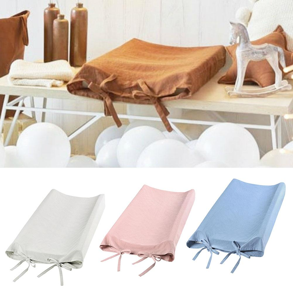 Newest Soft Reusable Changing Pad Cover Breathable Infant Changing Table Sheets Liner Cover Baby Changing Pad Nursery Supplies