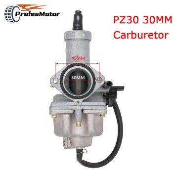 30mm Carb PZ30 gaźnik turbo przyspieszenie pompy carburador dla 200cc 250cc Motocross Pit Dirt Bike ATV