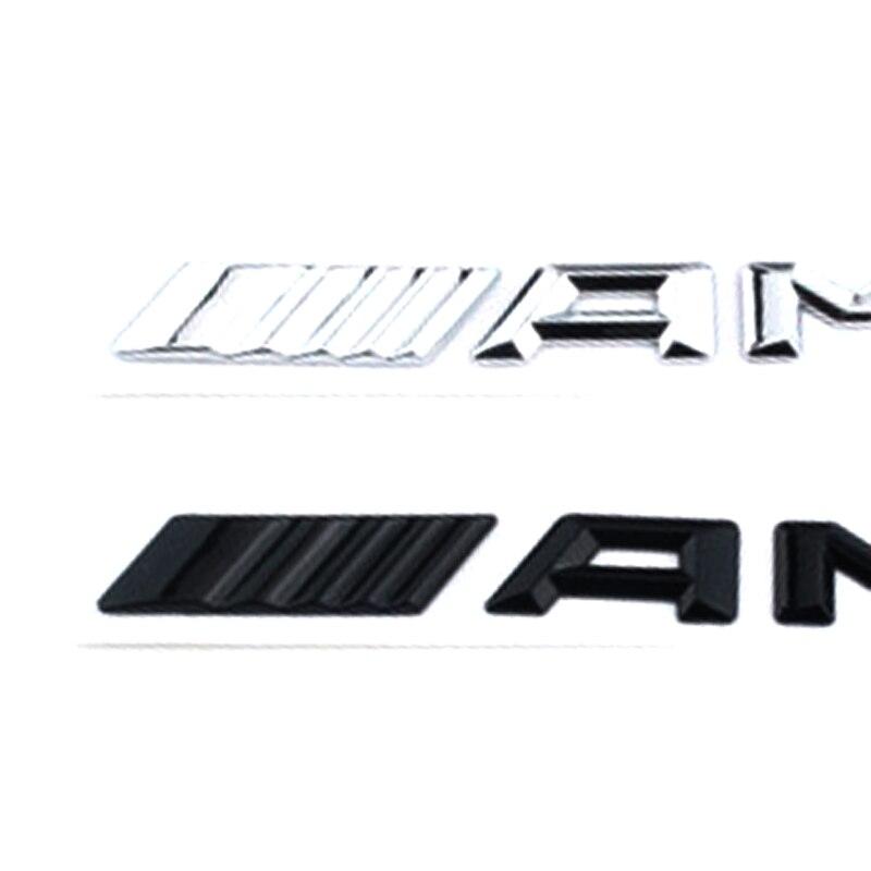 ABS Car Stickers Car Logo Badge Decals for Mercedes-Benz C-Class E-Class S-Class C63 AMG Car Modification Parts