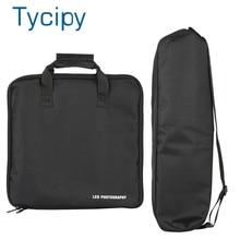 13 дюймовая сумка светодиодный переноски, светодиодная сумка для фотосъемки, уличная подставка для камеры, сумка для переноски для 8, 10 дюймов, кольцевой светильник для селфи и штатив, сумка для хранения