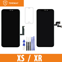 Grade Display For iPhone XS/ XR For Tianma OLED OEM Touch Screen With Digitizer Replacement Assembly Parts Black(China)