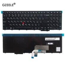 GZEELE rus klavye için Lenovo ThinkPad W540 W541 W550s T540 T540p T550 L540 kenar E531 E540 0C44592 0C44913 0C44952 RU