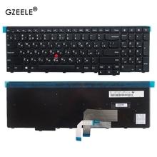 GZEELE teclado ruso para Lenovo ThinkPad W540 W541 W550s T540 T540p T550 L540 borde E531 E540 0C44592 0C44913 0C44952.