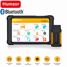 Humzor OBD2 NexzDAS Pro Full sistema Bluetooth Auto Ferramenta de Diagnóstico do Scanner Leitor de Código de Carro com Funções Especiais