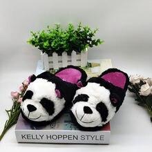Детские домашние тапочки panda специальная теплая зимняя обувь