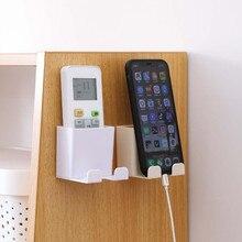 L5 коробка для хранения Настенный смонтированный Органайзер держатель для мобильного телефона с дистанционным управлением