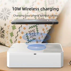 Image 2 - Smart LED UV Sterilisator Box Für Marks Nägel Accessoires Comestics Werkzeuge Wiederaufladbare Smart Telefon Desinfektion Box Reinigung
