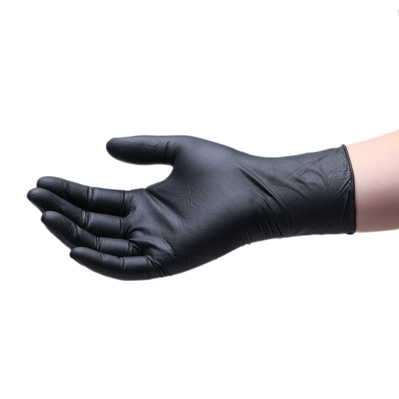 In Stock! Disposable Gloves Protective Labor Protection 100 Waterproof Protective Gloves Rubber Latex Nitrile Nitrile Tattoo