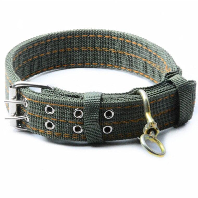 Al48-2 Big Dog Neck Ring 5.0 Cm Four Layer New Generation Thick Pet Collar Zang Ao Golden Retriever Samoyed