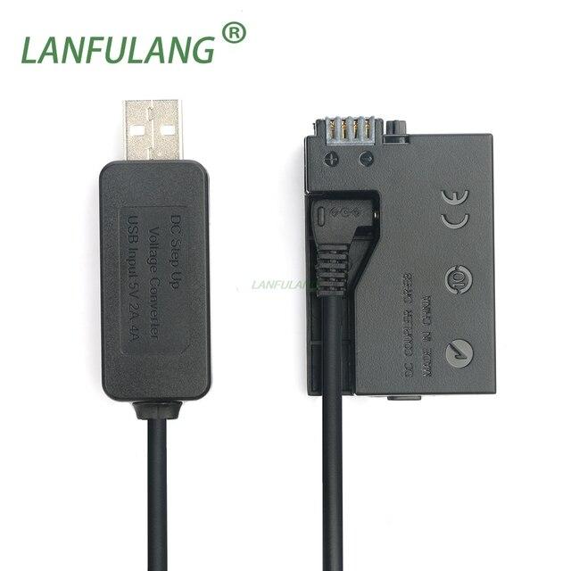 5V USB Drive Cable Power ACK E8 DR E8 LP E8 LP E8 Canon EOS 550D 600D 650D 700D Kiss X4 X5 X6i X7i Rebel T2i T3i T4i T5i ACK E8