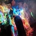 Мистический Огонь, магические трюки с цветным пламенем, пакетики для костра, камин, профессиональная пиротехника, инструменты для кемпинга ...