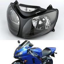 цена на Motorcycle Front Headlight Light Lamp Clear For KAWASAKI Ninja ZX12R ZX-12R 2000-2001 00 01