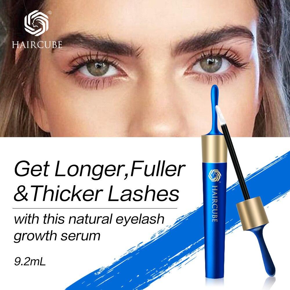 HAIRCUBE Eyelash Growth Eye Serum Eyelash Enhancer Longer Thicker Natural Moisturizing Eyelash Nourishing Essence Serum