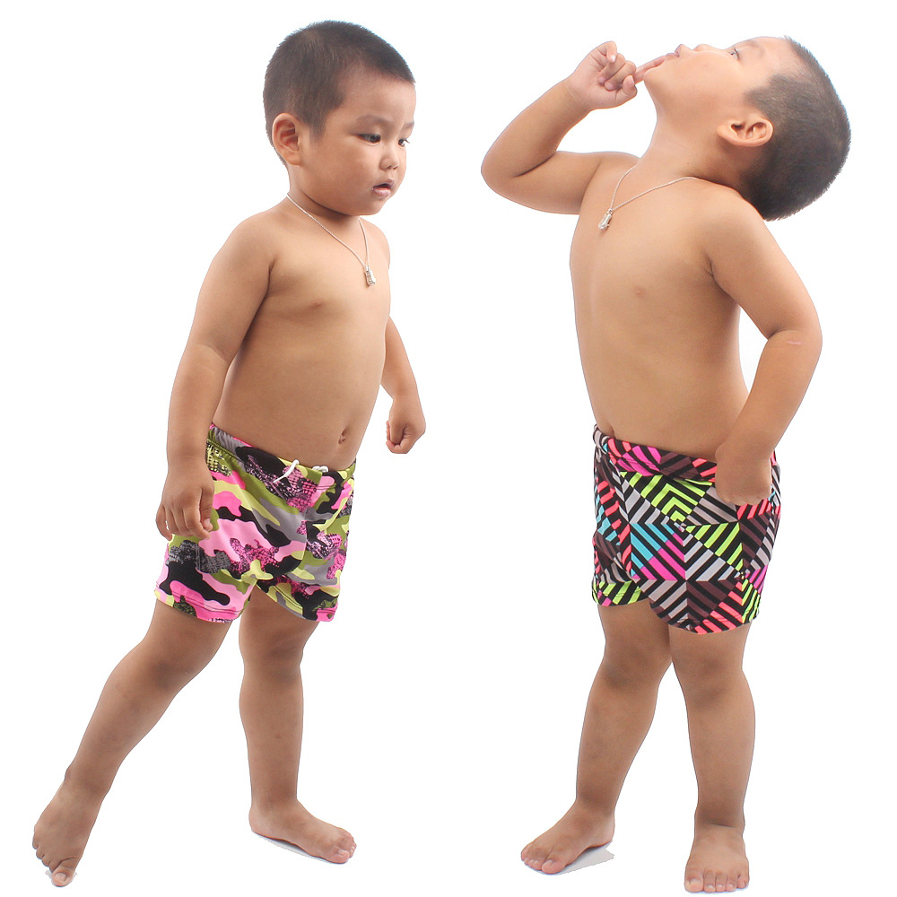 KID'S Swimwear BOY'S Swimming Trunks Big Boy Baby Swim Bathing Suit Boy Split Type Swimwear Infant Boxer Kids Swimming Trunks