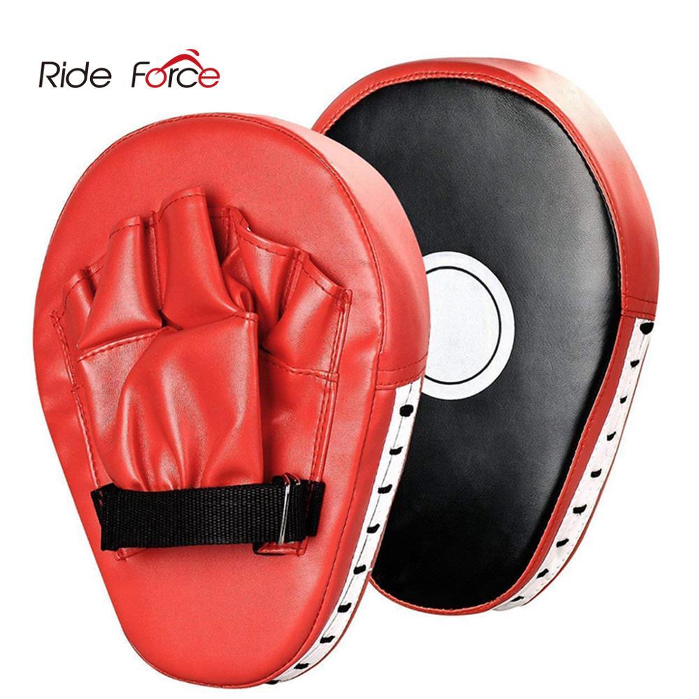 2 PCS Kick Boxing Gloves Pad Punch Target Bag Men MMA PU Karate Muay Thai Free Fight Sanda Training Adults Kids Equipment